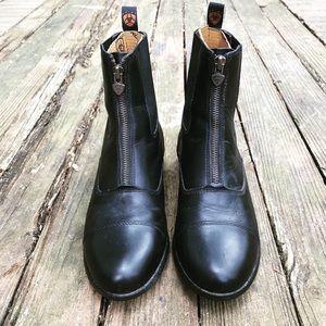 Ariat Heritage Zip Paddock Black Leather Boot